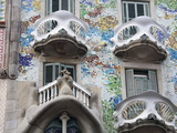 Casa Batllo By Gaudi, Barcelona, Catalonia, Spain, Europe Photographic Print by Richard Cummins