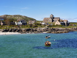 Iona Abbey, Isle of Iona, Inner Hebrides, Scotland, Uk Photographic Print by Patrick Dieudonne