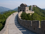The Great Wall of China at Badaling, China, Asia Photographic Print by Michael Runkel