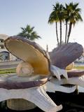 Pearl Monument, Ras Al Khaimah, United Arab Emirates, Middle East, Photographic Print