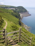 Lynmouth, Exmoor National Park, Somerset, England, United Kingdom, Europe Photographic Print by Jeremy Lightfoot