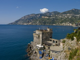 Cetara Fort, Amalfi Coast, UNESCO World Heritage Site, Campania, Italy, Europe Photographic Print by Charles Bowman