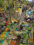 Mercado Dos Lavradores, the Covered Market For Producers of Island Food, Funchal, Madeira, Portugal Photographic Print by Neale Clarke