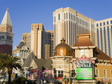 Casino Royale, Palazzo and Venetian Casinos, Las Vegas, Nevada Photographic Print by Richard Cummins