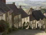 Gold Hill, Shaftesbury, Wiltshire, England, United Kingdom, Europe Photographic Print by James Emmerson
