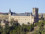 Segovia Castle, Segovia, Madrid, Spain, Europe Photographic Print by Christian Kober