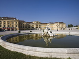Front Facade, Schonbrunn Palace, UNESCO World Heritage Site, Vienna, Austria, Europe Photographic Print by Jean Brooks