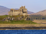 Duart Castle, Isle of Mull, Inner Hebrides, Scotland, Uk Photographic Print by Patrick Dieudonne