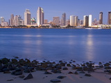 San Diego Skyline Viewed From Coronado Island, San Diego, California, USA Photographic Print by Richard Cummins