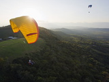 Paragliding in San Gil, Adventure Sports Capital of Colombia, San Gil, Colombia, South America Photographic Print by Christian Kober