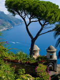 Rufolo View, Ravello, Amalfi Coast, UNESCO World Heritage Site, Campania, Italy, Europe Photographie par Charles Bowman