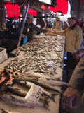 Fish Market, Rialto, Venice, Veneto, Italy, Europe Photographic Print by Peter Barritt