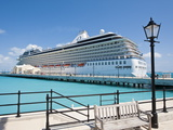Cruise Terminal in the Royal Naval Dockyard, Bermuda, Central America Photographic Print by Michael DeFreitas