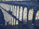 The 1St Century Roman Aqueduct, Segovia, Madrid, Spain, Europe Photographic Print by Christian Kober