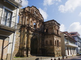Church and Convent of the Compania De Jesus, Historical Old Town, Panama City, Panama Photographic Print by Christian Kober