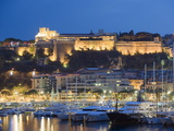 Palais Du Prince and Harbour in the Port of Monaco, Principality of Monaco, Cote D'Azur Photographic Print by Christian Kober