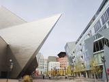 Downtown Denver Art Museum, Denver, Colorado, USA Photographic Print by Christian Kober