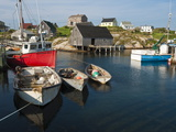 Peggy's Cove, Nova Scotia, Canada, North America Reproduction photographique par Michael DeFreitas