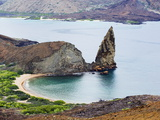 Pinnacle Rock, Isla Bartholome, Galapagos Islands, UNESCO World Heritage Site, Ecuador Photographic Print by Christian Kober