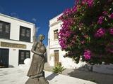 Asuncion De La Virgen Statue, Haria, Lanzarote, Canary Islands, Spain, Europe Photographic Print by Robert Francis