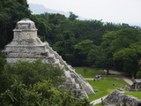 Mayan Ruins, Palenque, Chiapas State, Mexico, North America Photographic Print by Christian Kober