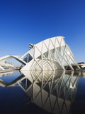 Science Museum, Architect Santiago Calatrava, City of Arts and Sciences, Valencia, Spain, Europe Photographic Print by Christian Kober