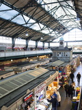 Cardiff Central Market, a Victorian-Era Structure Built in 1891, Cardiff, Wales Photographic Print by Donald Nausbaum