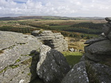 Tor, Dartmoor, Devon, England, United Kingdom, Europe Photographic Print by Martin Pittaway