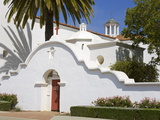 San Luis Rey Mission, Oceanside, California, USA Photographic Print by Richard Cummins