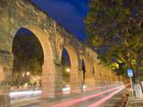 Aqueduct, Morelia, Michoacan State, Mexico, North America Papier Photo par Christian Kober