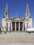 Civic Hall, Millennium Square, Leeds, West Yorkshire, England, Uk Photographic Print by Peter Richardson