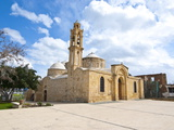 Old Church in Peristerona, Cyprus, Europe Photographic Print by Michael Runkel