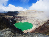 Crater Lake of Volcan Santa Ana, 2365M, Parque Nacional Los Volcanes, El Salvador, Central America Photographic Print by Christian Kober