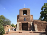 San Miguel Mission Church, Oldest Church in the United States, Santa Fe, New Mexico Photographic Print by Wendy Connett