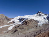 Christian Kober - Glacier Near Plaza De Mulas Basecamp, Aconcagua Provincial Park, Andes Mountains, Argentina - Fotografik Baskı