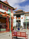 Central Plaza, Chinatown, Los Angeles, California, United States of America, North America Photographic Print by Richard Cummins
