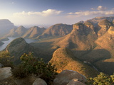Blyde River Canyon and the Three Rondavels, Mpumalanga, South Africa, Africa Photographic Print by Patrick Dieudonne