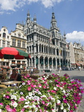 Guildhalls in the Grand Place, UNESCO World Heritage Site, Brussels, Belgium, Europe Photographic Print by Christian Kober