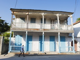 House in the Historic Colonial Old Town, Jacmel, Haiti, West Indies, Caribbean, Central America Photographic Print by Christian Kober