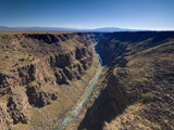 Rio Grande Gorge Bridge Near Taos, New Mexico, United States of America, North America Photographic Print by Alan Copson