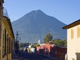 Volcan De Agua, 3765M, Antigua, Guatemala, Central America Photographic Print by Christian Kober