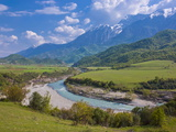 Landscape in the Southeast Area, Albania, Europe Photographic Print by Michael Runkel