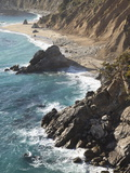 Rocky Stretch of Coastline in Big Sur, California, United States of America, North America Photographic Print by Donald Nausbaum