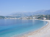 Beach of Himara, Albania, Europe Photographic Print by Michael Runkel