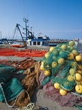 Fishing Nets, Sainte Anne Des Monts, Quebec, Canada, North America Photographic Print by Michael DeFreitas