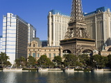 Bally's and Paris Casinos, Las Vegas, Nevada, United States of America, North America Photographic Print by Richard Cummins