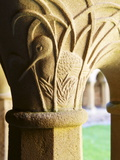 Finely Carved Capitals in the Cloisters, Iona Abbey, Isle of Iona, Scotland, United Kingdom, Europe Photographic Print by Patrick Dieudonne