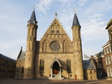 Church in Binnenhof Courtyard, Den Haag (The Hague), Netherlands, Europe Photographic Print by Christian Kober
