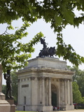 Wellington Arch, Hyde Park Corner, London, England, United Kingdom, Europe Photographic Print by Michael Kelly