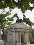 Wellington Arch, Hyde Park Corner, London, England, United Kingdom, Europe Photographic Print by Michael Kelly